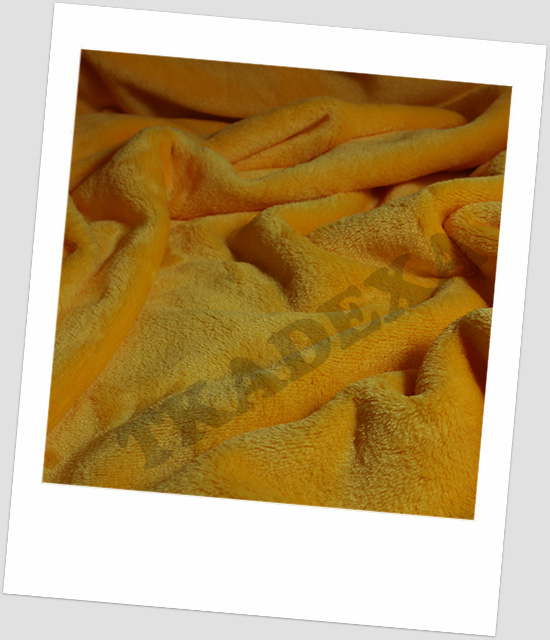 "Coral fleece SOFT ""1020"" - ŽLUTÁ"