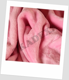 "Coral fleece SOFT ""1032"" - RŮŽOVÁ-ROLE"