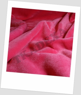 "Coral fleece SOFT ""1033"" - SV.MALINA od 5m"