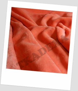 "Coral fleece SOFT ""1022"" - MERUŇKA 30x20cm"