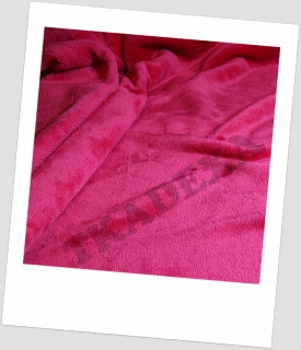 "Coral fleece SOFT ""1035"" - MALINA 30x20cm"