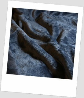 "Coral fleece SOFT ""1092"" ANTRACIT 30x20cm"