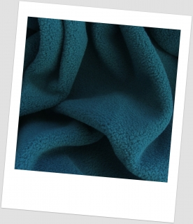 Fleece antipeeling PETROLEJ